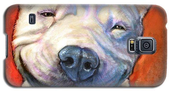 Portraits Galaxy S5 Cases - Smile Galaxy S5 Case by Sean ODaniels