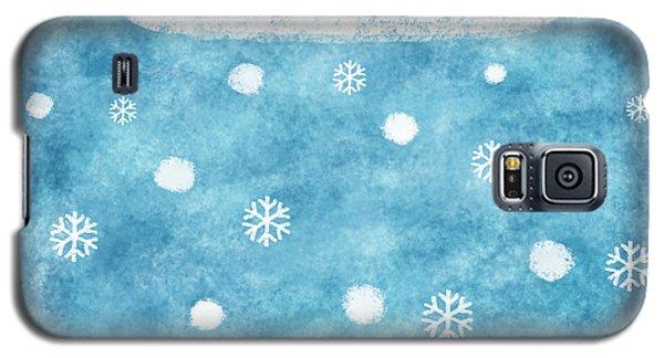 Snow Winter Galaxy S5 Case by Setsiri Silapasuwanchai