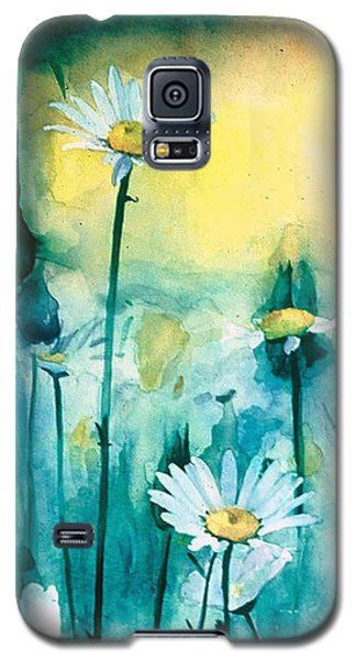 Splash Of Daisies Galaxy S5 Case by Cyndi Brewer