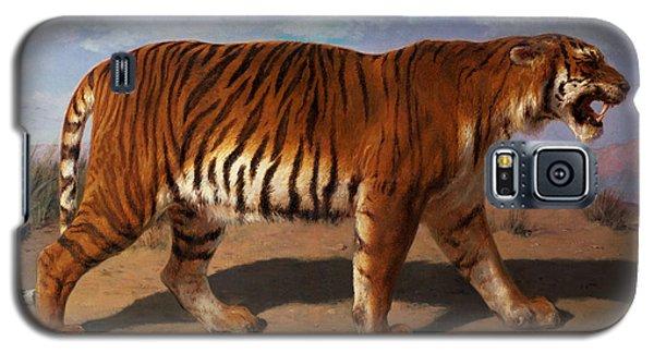 Stalking Tiger Galaxy S5 Case by Rosa Bonheur