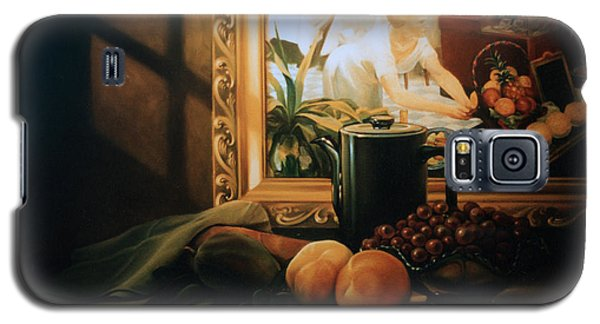 Still Life With Hopper Galaxy S5 Case by Patrick Anthony Pierson