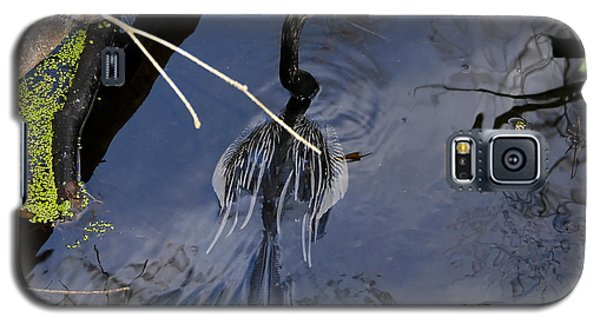 Swimming Bird Galaxy S5 Case by David Lee Thompson