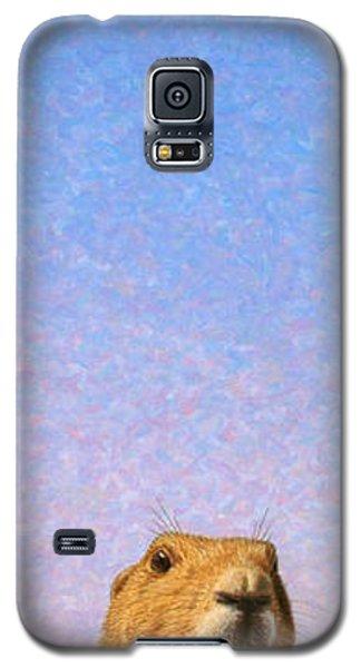 Animals Galaxy S5 Cases - Tall Prairie Dog Galaxy S5 Case by James W Johnson