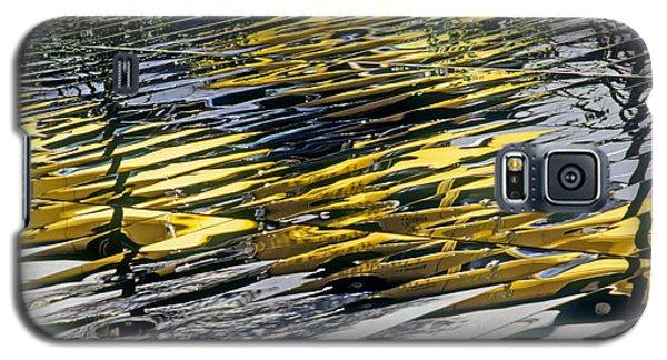 Galaxy S5 Cases - Taxi Abstract Galaxy S5 Case by Tony Cordoza