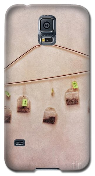 Still Life Galaxy S5 Cases - Tea Bags Galaxy S5 Case by Priska Wettstein