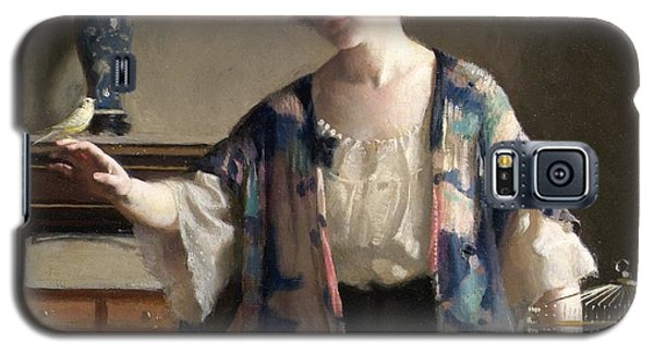 The Canary Galaxy S5 Case by William McGregor Paxton