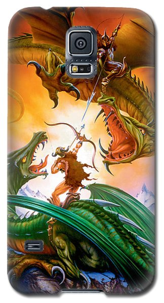 The Duel Galaxy S5 Case by The Dragon Chronicles