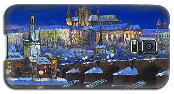 Pastels Galaxy S5 Cases - The Prague Panorama Galaxy S5 Case by Yuriy  Shevchuk