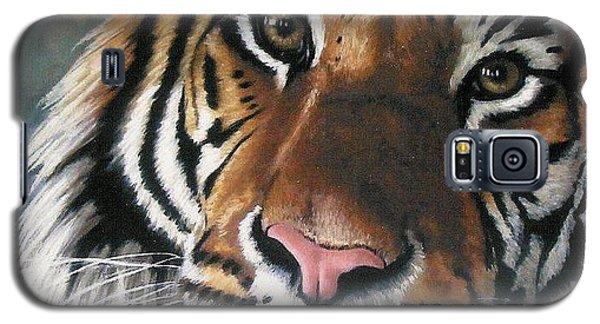 Pastels Galaxy S5 Cases - Tigger Galaxy S5 Case by Barbara Keith