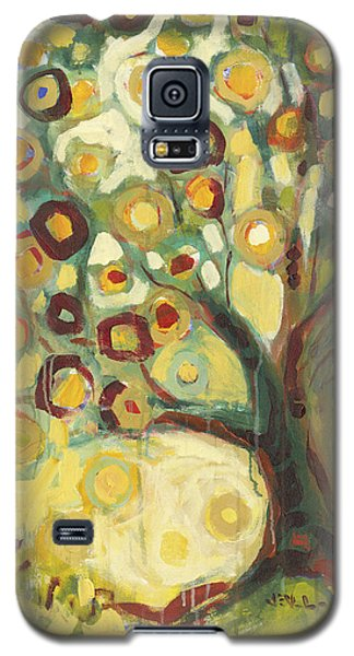 Tree Galaxy S5 Cases - Tree of Life in Autumn Galaxy S5 Case by Jennifer Lommers