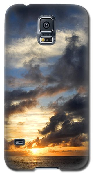 Tropical Sunset Galaxy S5 Case by Fabrizio Troiani