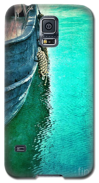 Vintage Ship Galaxy S5 Case by Jill Battaglia