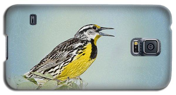 Western Meadowlark Galaxy S5 Case by Betty LaRue
