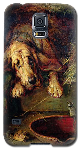 When The Cat's Away The Mice Will Play  Galaxy S5 Case by Philip Eustace Stretton