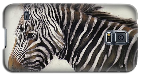 Zebra  Galaxy S5 Case by Odile Kidd