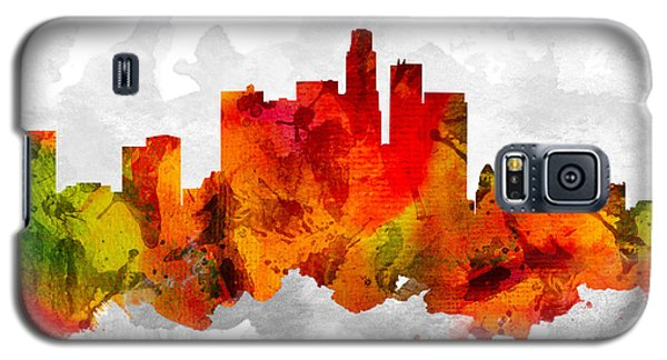 Los Angeles California Cityscape 15 Galaxy S5 Case by Aged Pixel