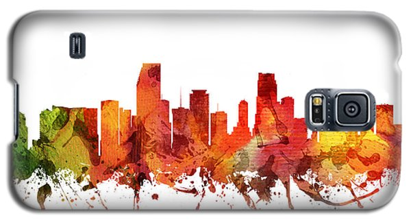 Miami Cityscape 04 Galaxy S5 Case by Aged Pixel
