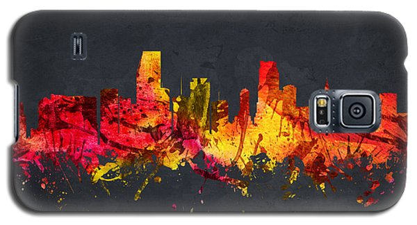 Miami Cityscape 07 Galaxy S5 Case by Aged Pixel