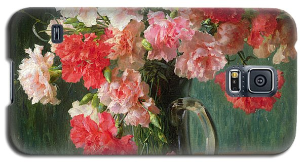 Still Life Of Carnations   Galaxy S5 Case by Emile Vernon