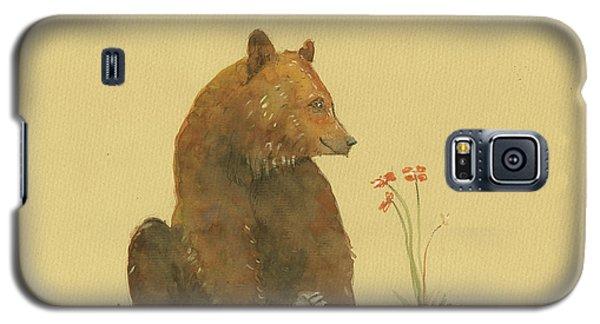 Alaskan Grizzly Bear Galaxy S5 Case by Juan Bosco