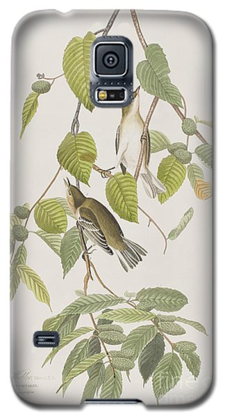 Autumnal Warbler Galaxy S5 Case by John James Audubon