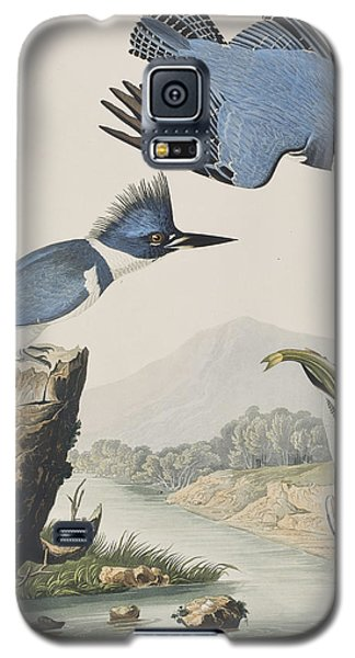 Belted Kingfisher Galaxy S5 Case by John James Audubon