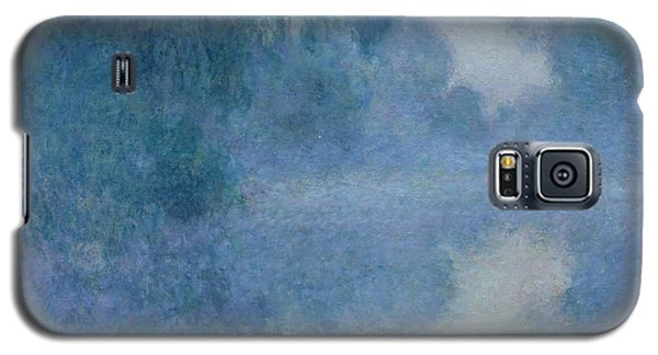 Branch Of The Seine Near Giverny Galaxy S5 Case by Claude Monet