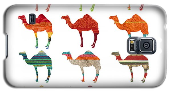 Camels Galaxy S5 Case by Art Spectrum