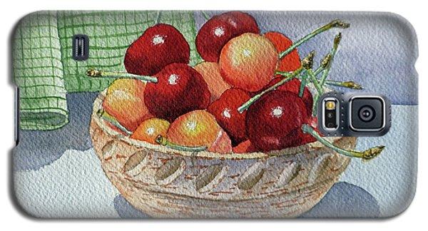 Cherries Galaxy S5 Case by Irina Sztukowski