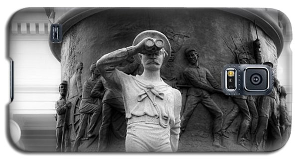 Reliefs Galaxy S5 Cases - Confederate Memorial Monument - Montgomery Alabama Galaxy S5 Case by Mountain Dreams