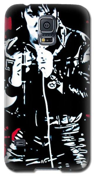 Elvis Galaxy S5 Case by Luis Ludzska