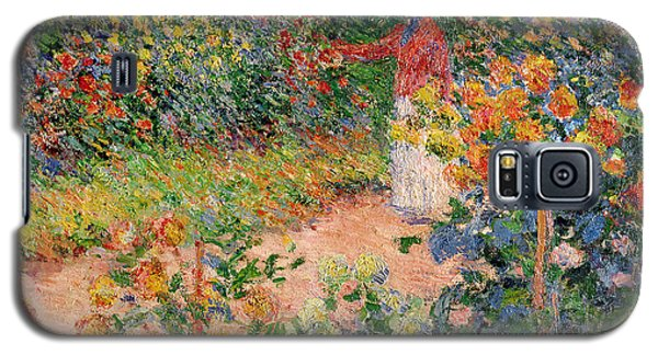 Garden At Giverny Galaxy S5 Case by Claude Monet