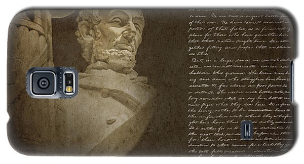 Gettysburg Address Galaxy S5 Case by Diane Diederich