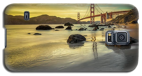 Popular Galaxy S5 Cases - Golden Gate Sunset Galaxy S5 Case by James Udall