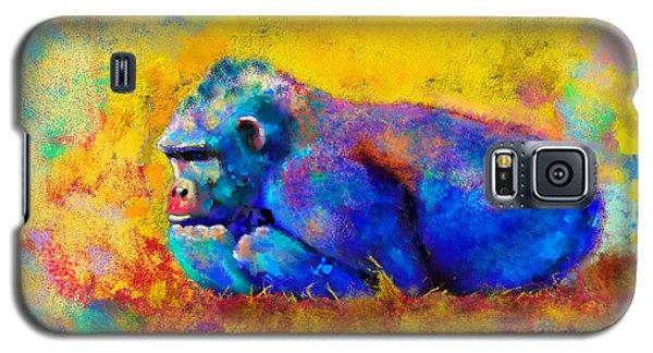 Gorilla Gorilla Galaxy S5 Case by Betty LaRue