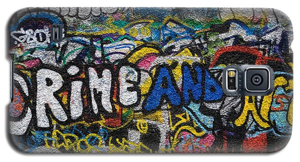 Grafitti On The U2 Wall, Windmill Lane Galaxy S5 Case by Panoramic Images