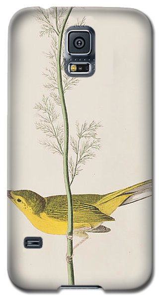 Hooded Warbler Galaxy S5 Case by John James Audubon