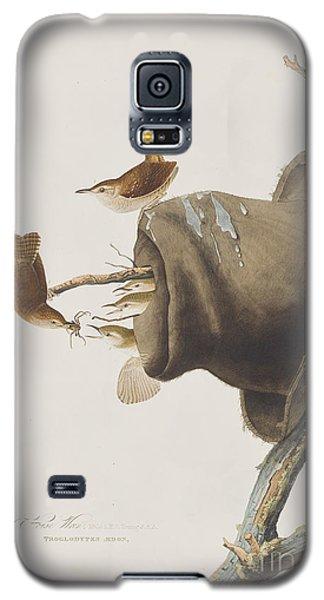 House Wren Galaxy S5 Case by John James Audubon