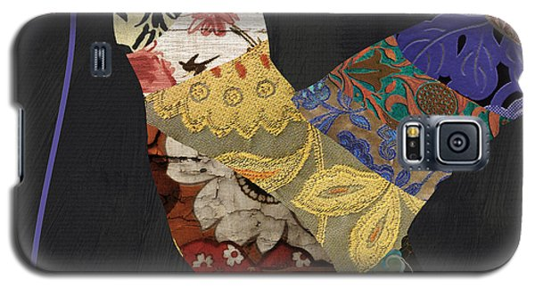 Hummingbird Brocade IIi  Galaxy S5 Case by Mindy Sommers
