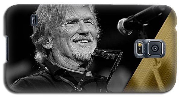 Kris Kristofferson Collection Galaxy S5 Case by Marvin Blaine
