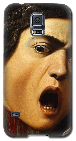 Medusa Galaxy S5 Case by Caravaggio
