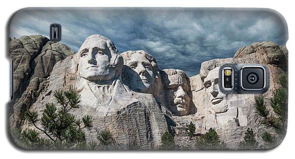 Mount Rushmore II Galaxy S5 Case by Tom Mc Nemar