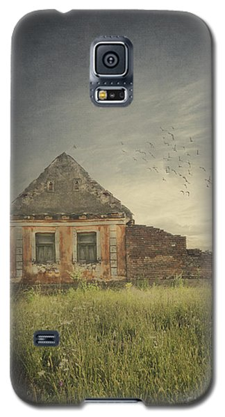 Pyrography Galaxy S5 Cases - Old House Galaxy S5 Case by Jelena Jovanovic