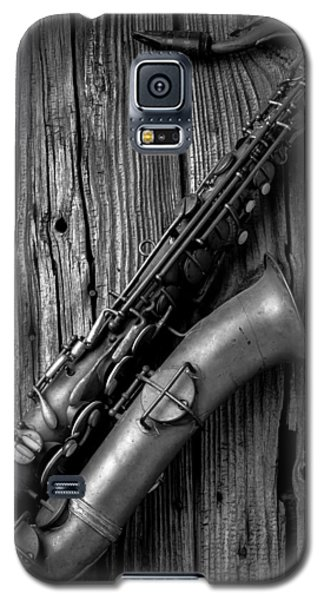 Old Sax Galaxy S5 Case by Garry Gay