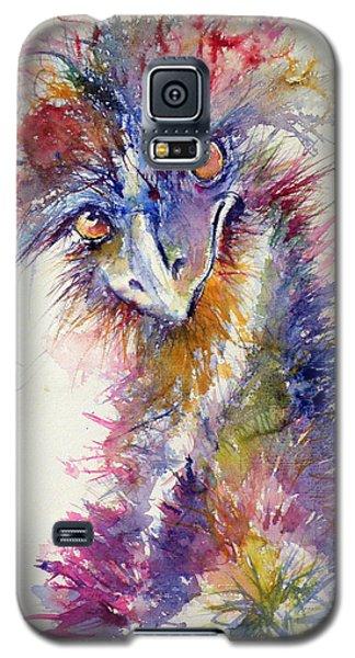 Ostrich Galaxy S5 Case by Kovacs Anna Brigitta