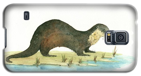 Otter Galaxy S5 Case by Juan Bosco