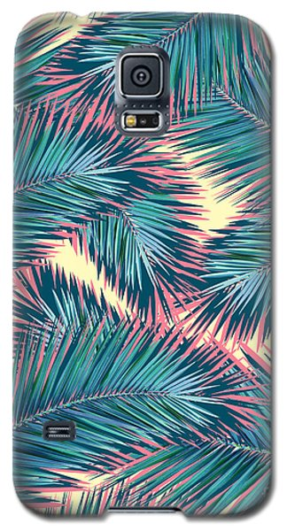 Palm Trees  Galaxy S5 Case by Mark Ashkenazi
