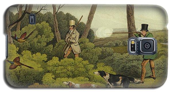 Pheasant Shooting Galaxy S5 Case by Henry Thomas Alken
