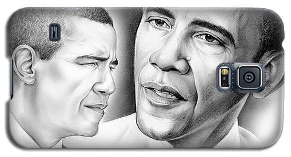 President Barack Obama Galaxy S5 Case by Greg Joens