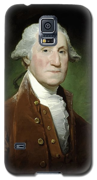 President George Washington  Galaxy S5 Case by War Is Hell Store